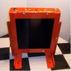 HD floor Mounted Fan Cooled Transmission Cooler