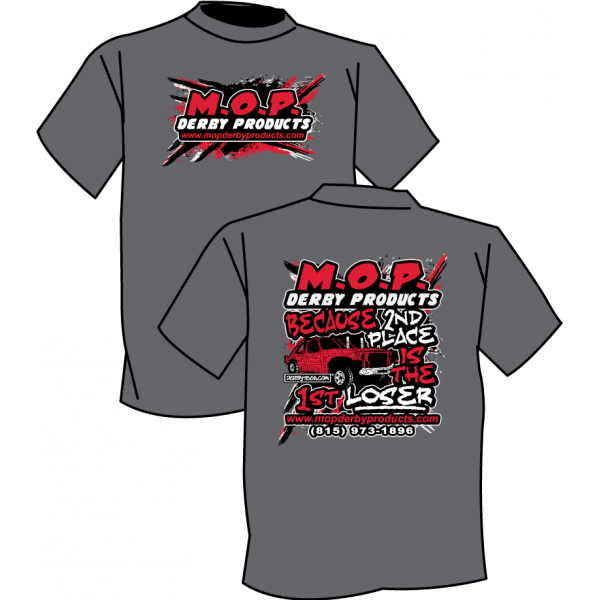 M.O.P. Derby Products T-Shirts (Miscellaneous) by www.mopderbyproducts.com