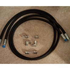 3/8 hose set with fittings